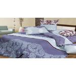 Купить Комплект постельного белья Ecotex Евро, сатин, Кармен (КГЕКармен)