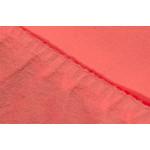 Купить Простыня Ecotex махровая на резинке 180х200х20 см (ПРМ18 коралловый)