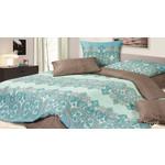 Купить Комплект постельного белья Ecotex 1,5 сп, сатин, Персей (КГ1Персей)