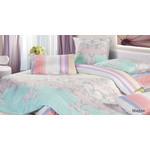 Купить Комплект постельного белья Ecotex Евро, сатин, Мидэя (КГЕМидэя)