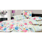 Купить Комплект постельного белья Ecotex 1,5 сп, сатин, Розалия (КГ1Розалия)