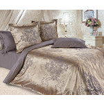 Купить Комплект постельного белья Ecotex 2-х сп, сатин-жаккард, Карингтон (КЭМКарингтон)
