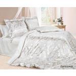 Купить Комплект постельного белья Ecotex Евро, сатин-жаккард, Джорджия (КЭЕДжорджия)