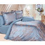 Купить Комплект постельного белья Ecotex 2-х сп, сатин-жаккард, Борнео (КЭМБорнео)