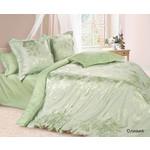 Купить Комплект постельного белья Ecotex Евро, сатин-жаккард, Оливия (КЭЕОливия)