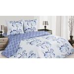 Купить Комплект постельного белья Ecotex 1,5 сп, поплин, Лазурь (КП1Лазурь)