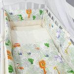 Купить By Twinz Комплект в кроватку 6 пр. Джунгли КЛАССИКА