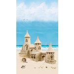 Aplast ПВХ с фризом 3D NOVITA Панорама Песочный замок (узор) 2700х250 мм упаковка 6 шт