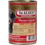 Купить Консервы Dr.ALDER's Мясное блюдо алдерс гарант из птицы для собак 410г (7742)