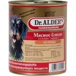 Купить Консервы Dr.ALDER's Мясное блюдо алдерс гарант из птицы для собак 750г (7739)