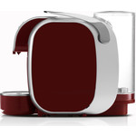 Caffitaly S07 Murex red/silver