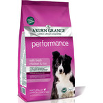 Сухой корм ARDEN GRANGE Adult Dog Performance Hypoallergenic with Fresh Chicken&Rice гипоалергенный с курицей и рисом для собак 2кг (AG609289)