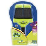 Купить Пуходерка FURminator Slicker Brush Large Firm большая жесткая двухсторонняя зубцы 15мм