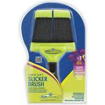 Купить Пуходерка FURminator Slicker Brush Large Soft большая мягкая двухсторонняя зубцы 15мм