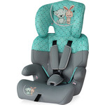 Автокресло Lorelli Junior 9-36 кг Серо-зеленый/ Grey&Green Friends 1704