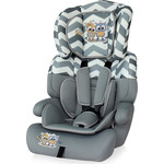 Автокресло Lorelli Junior plus 9-36 кг Серый / Grey Baby Owls 1736
