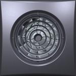 DiCiTi осевой вытяжной с обратным клапаном D 125 декоративный (AURA 5C dark gray metal)