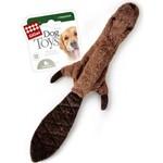 Купить Игрушка GiGwi Dog Toys Squeaker Training бобёр с пищалкой для собак (75260)