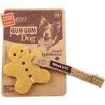 Купить Игрушка GiGwi Eco GumGum Dog Touch the Difference Natural Raw Rubber из эко-резины и натуральных материалов пряник для собак (75316)