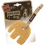 Купить Игрушка GiGwi Eco GumGum Dog Touch the Difference Natural Raw Rubber из эко-резины и натуральных материалов слон для собак (75319)
