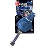 Купить Игрушка GiGwi Push to Mute Dinoball Squeak динозавр с отключаемой пищалкой для собак (75398)