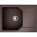Купить Кухонная мойка Omoikiri Yonaka 65-DC, 650х510, темный Шоколад (4993347)