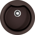 Купить Кухонная мойка Omoikiri Yasugata 48R-DC, 485х485, темный Шоколад (4993211)