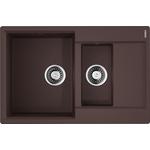 Купить Кухонная мойка Omoikiri Daisen 78-2-DC, 780х510, темный Шоколад (4993333)