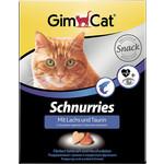 Gimborn Gimcat Schnurries with Salmon and Taurine сердечки с лососем и таурином для кошек 650таб (409382)