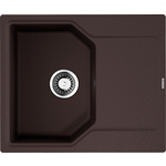 Купить Кухонная мойка Omoikiri Yonaka 61-DC, 615х510, темный шоколад (4993637)