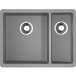 Купить Кухонная мойка Omoikiri Kata 55-2-U-GR, 540х420, Leningrad Grey (4993390)