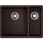 Купить Кухонная мойка Omoikiri Kata 55-2-U-DC, 540х420, темный шоколад (4993388)