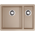 Купить Кухонная мойка Omoikiri Kata 55-2-U-SA, 540х420, бежевый (4993421)