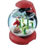 Купить Аквариумный комплекс Tetra Cascade Globe Bordeaux Designer Nano Aquarium with Clear Water Tehnology 6,8л (бордовый)