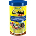 Купить Корм Tetra Cichlid Colour Complete Food for All Cichlids улучшение окраса для всех видов цихлид 500мл