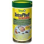 Купить Корм Tetra TetraPhyll Granules Complete Food for Herbivorous гранулы для всех видов растительноядных рыб 250мл