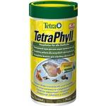 Купить Корм Tetra TetraPhyll Flakes Complete Food for Herbivorous хлопья для всех видов растительноядных рыб 100мл