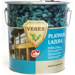 Купить Антисептик для дерева VERES PLATINUM LAZURA №12 белый 10л.