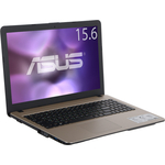 "Ноутбук Asus X540SA-XX032T Pentium N3700 1600MHz/2G/500G/15.6"" HD GL/Intel HD/no ODD/BT/Win10"