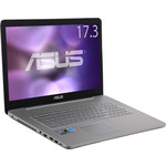 Игровой ноутбук Asus N752VX-GC261T i5-6300HQ 2300MHz/8Gb/1TB+128Gb SSD/17.3' FHD AG/NV GTX950M 2GB/DVD-SM/BT/Win 10