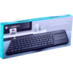 Клавиатура Logitech Wireless Touch K400 Plus Dark