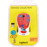 Мышь Logitech M238 Doodle Collection CHAMPION CORAL