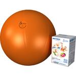 Купить Фитбол Альпина Пласт Стандарт оранжевый, диаметр 450 мм