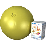 Купить Фитбол Альпина Пласт Стандарт желтый, диаметр 550 мм