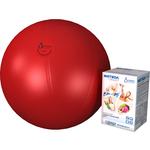 Купить Фитбол Альпина Пласт Стандарт красный, диаметр 650 мм