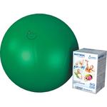 Купить Фитбол Альпина Пласт Стандарт зеленый, диаметр 650 мм