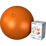 Купить Фитбол Альпина Пласт Стандарт оранжевый, диаметр 650 мм