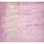 Полотенце Brielle Bamboo Jacquard 70x140 rose роза (1213-85622)