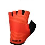 Купить Тренировочные перчатки Reebok RAGB-11235RD (без пальцев) красные р. M