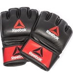 Перчатки Reebok для MMA Combat Leather Glove - Small (RSCB-10310RDBK)